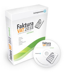 Program do fakturowania - Faktura VAT 2018 STANDARD
